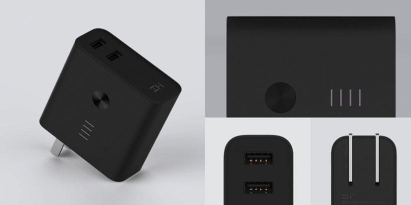 شارژر هوشمند و پاور بانک شیائومی Xiaomi ZMI Dual Mode