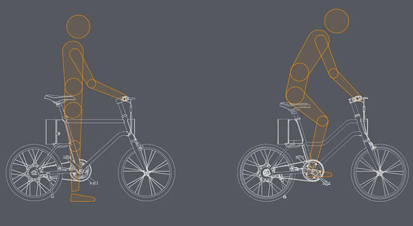 ارگونومیک حرفه ای دوچرخه هوشمند شیائومی
