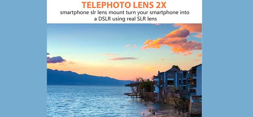 لنز تله فوتو 2X