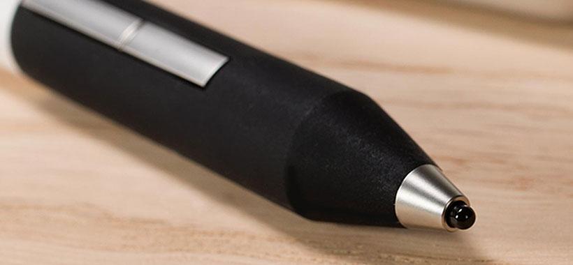 دکمه ها و نوک دقیق قلم adonit