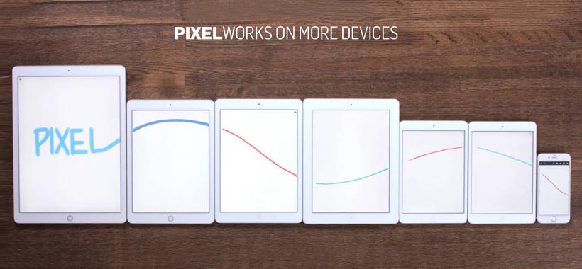 ادونیت پیکسل سازگار با اپل