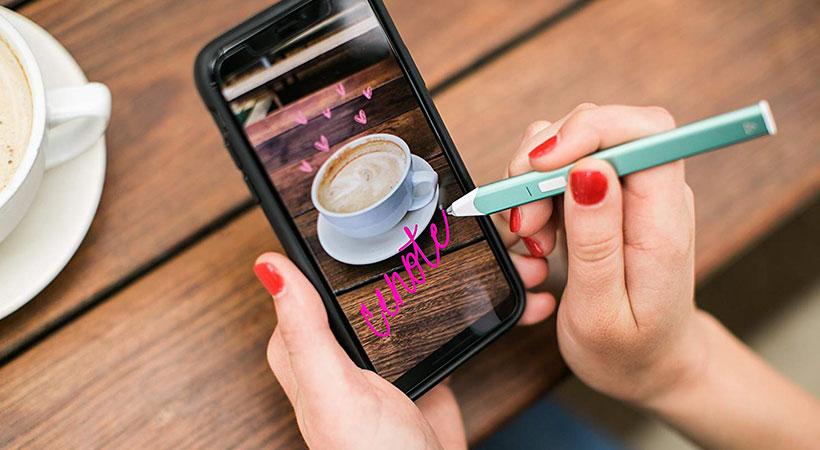 قلم لمسی Snap 2 ادونیت