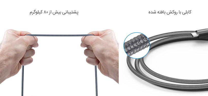 کابل شارژ میکرو یو اس بی انکر