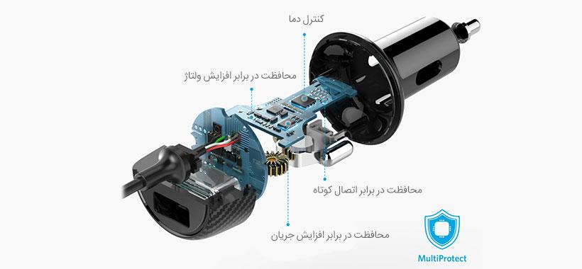 سیستم MultiProtect منحصر به فرد Anker