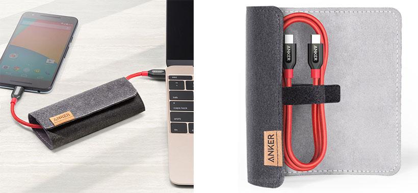 کیف محافظ برای تنظیم طول کابل