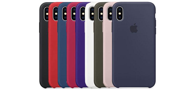 قاب محافظ سیلیکونی اپل iPhone XS Max