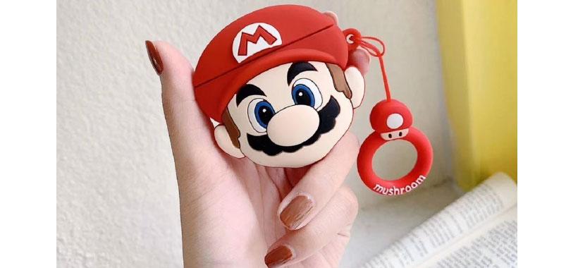 کاور سیلیکونی ایرپاد اپل طرح ماریو