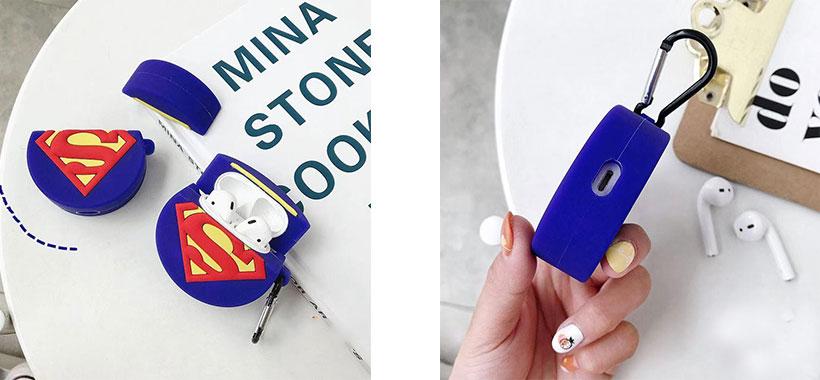 کاور سیلیکونی ایرپاد اپل طرح سوپرمن