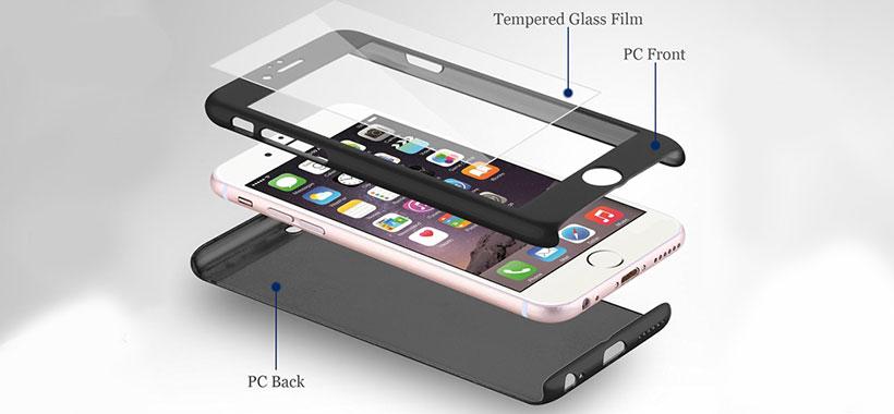 قاب 360 درجه iPhone SE