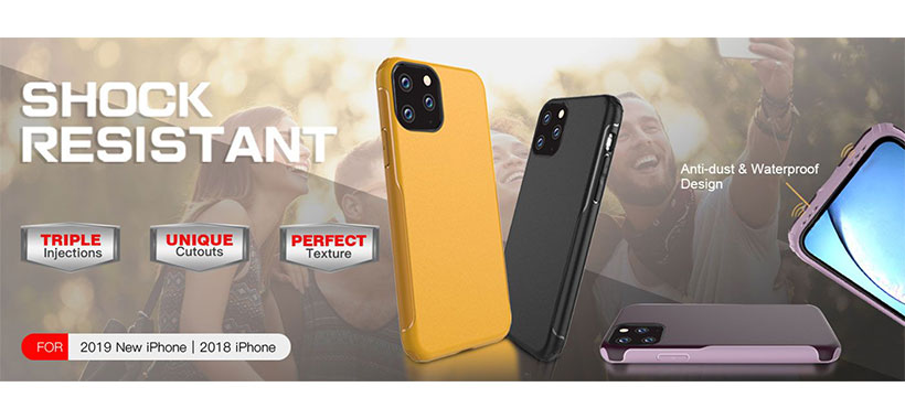 قاب محافظ X-Fitted Dual Case گوشی آیفون 11 پرو مکس