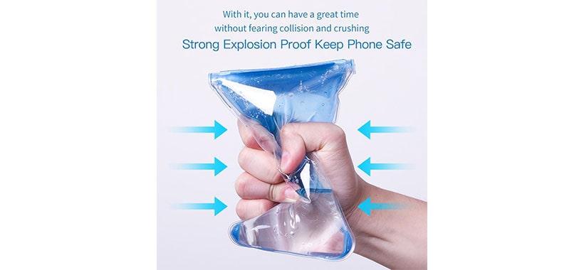 کیف ضد آب گوشی بیسوس