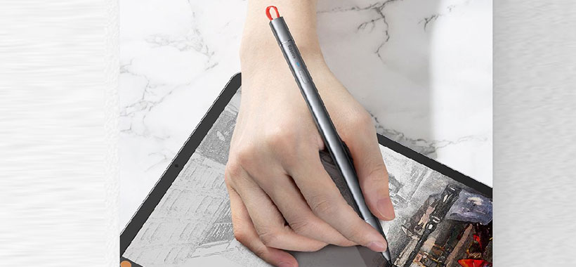 قلم استایلوس بیسوس Square Line Capacitive Stylus
