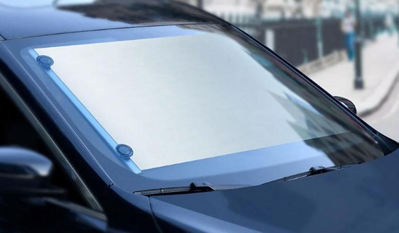 پرده شیشه خودرو بیسوس