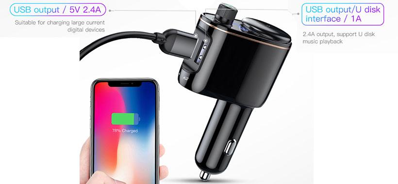 قابلیت شارژ همزمان دو دستگاه