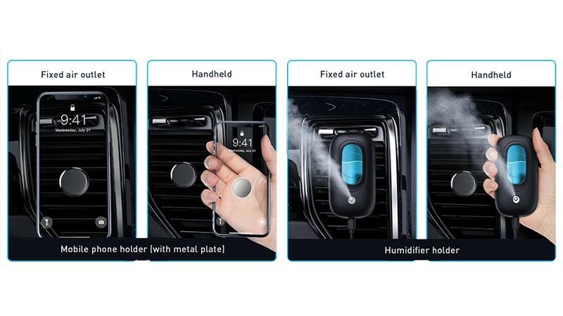 دستگاه بخور سرد داخل ماشین بیسوس