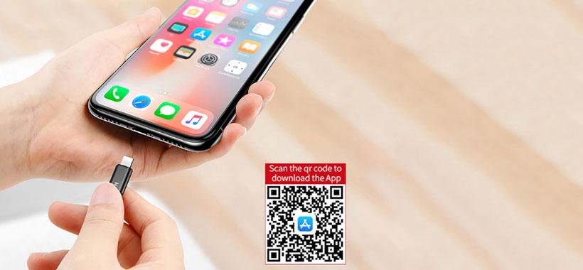 نحوه استفاده از Baseus R01 Phone Remote Control