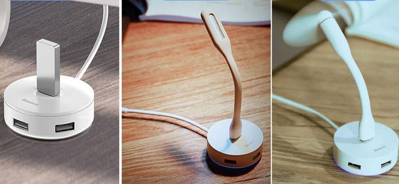 قابلیت اتصال دستگاه های مختلف به هاب