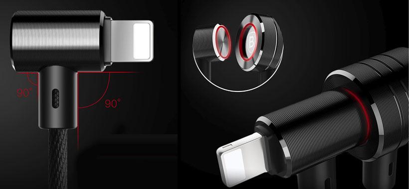 طراحی کاربردی کابل Baseus T-Type