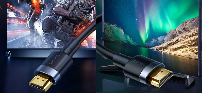 کیفیت ساخت ممتاز کابل Cafule HDMI بیسوس
