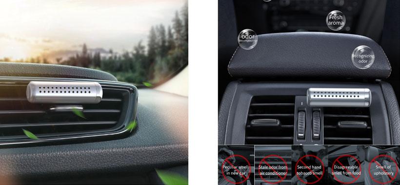 خوشبو کننده هوای خودرو بیسوس Car Holder Air Freshener