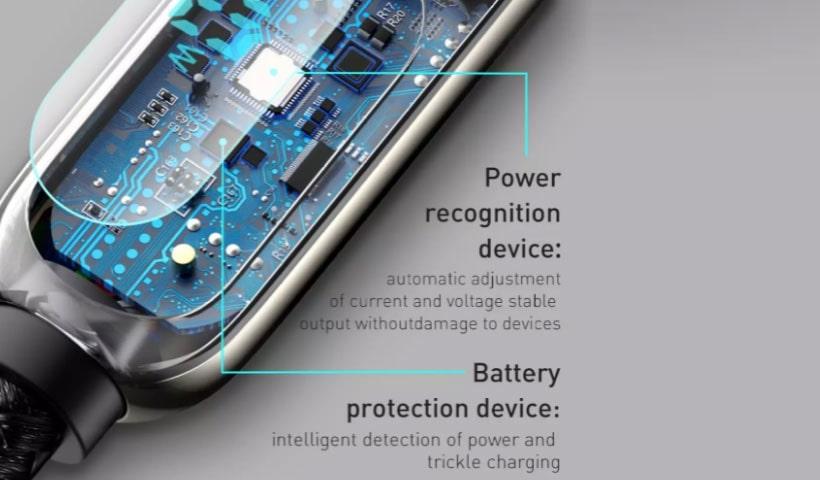 کابل فست بیسوس Display Fast Charging Data Cable