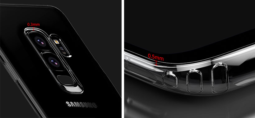 محافظ ژله ای سامسونگ S9 Plus