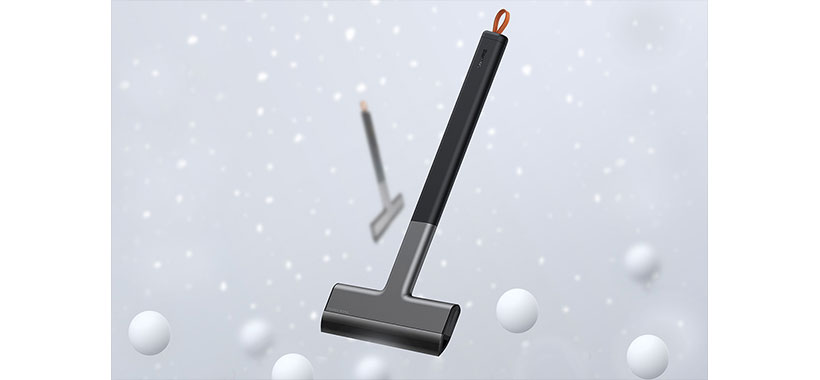 برف پاک کن دستی شیشه خودرو بیسوس