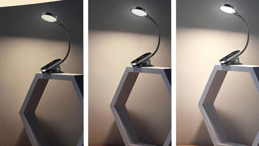 سطح روشنایی قابل تنظیم چراغ مطالعه بیسوس