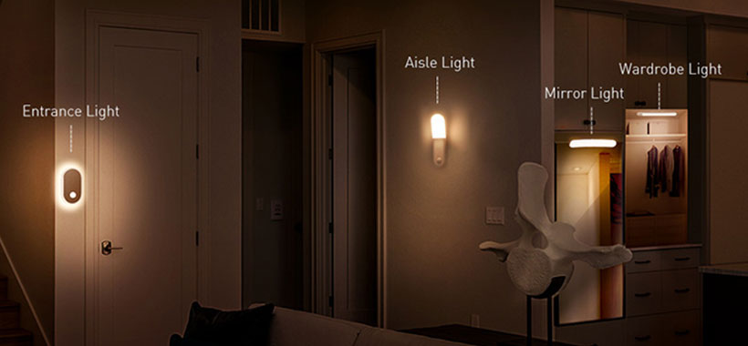 لامپ دارای سنسور نور و حرکت بیسوس DGSUN