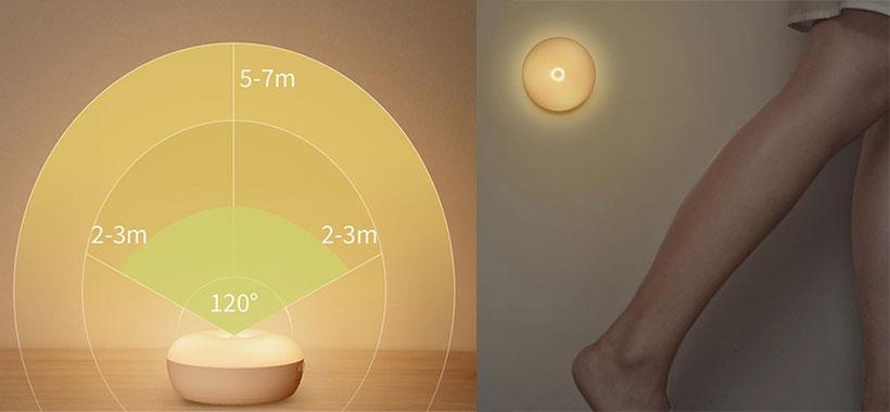لامپی مجهز به سنسور حرکت هوشمند