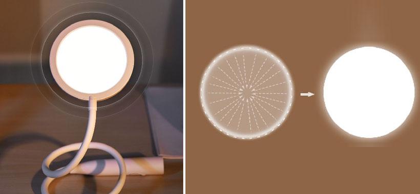 صفحه نوری چراغ مطالعه بیسوس House Desk Lamp
