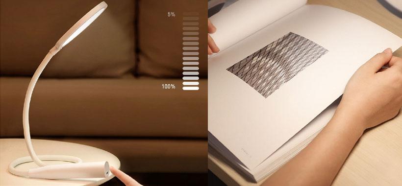 کنترل لمسی چراغ مطالعه بیسوس House Desk Lamp