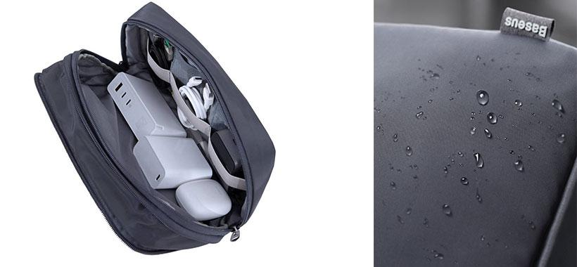 کیف لوازم شخصی دستی ضدآب بیسوس