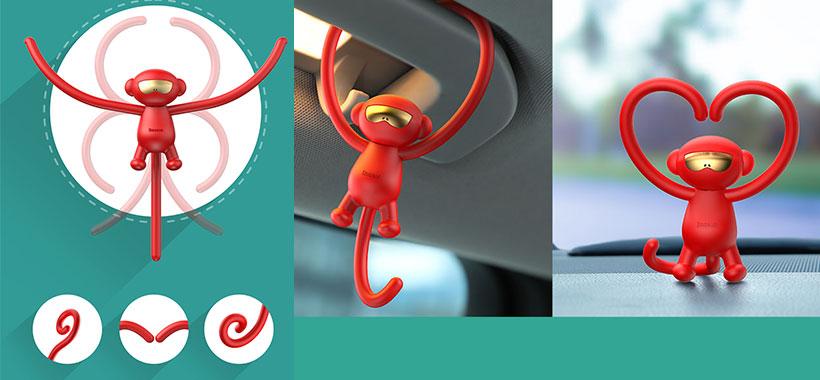 خوشبو کننده های هواوی داخل خودرو بیسوس