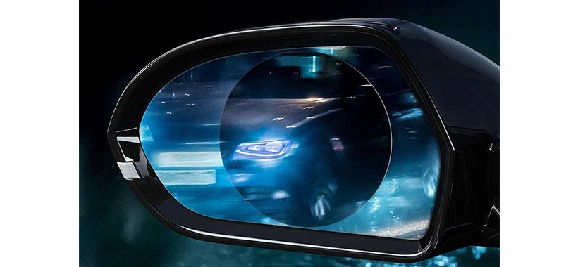 برچسب ضد آب آینه خودرو بیسوس
