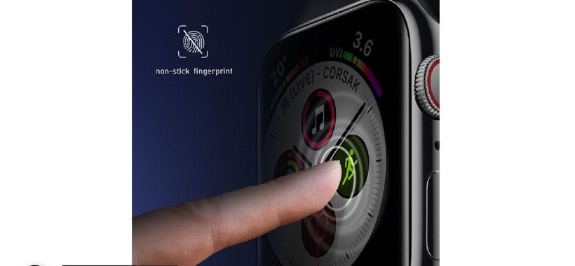 محافظ صفحه بیسوس اپل واچ 42mm، مدل SGAPWA4-F01