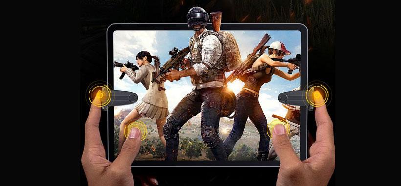 دسته بازی موبایل بیسوس shooting game tool