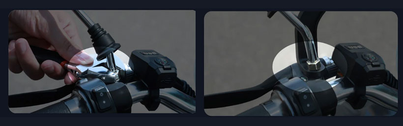 نحوه نصب نگهدارنده بیسوس Armor Motorcycle
