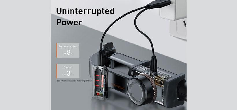 باتری و کارکرد پایه عکاسی بیسوس
