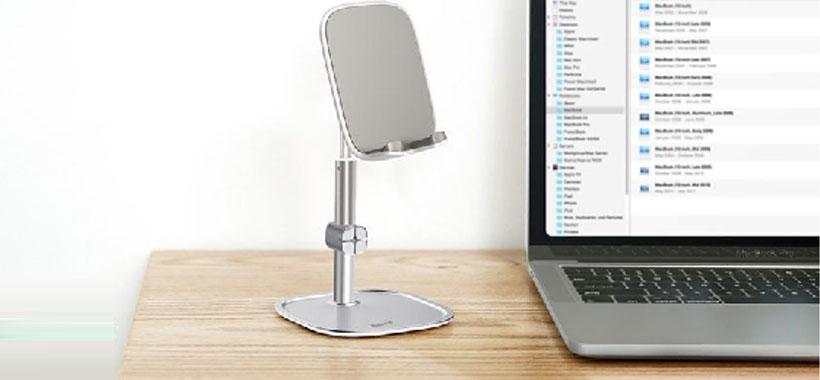 استند رومیزی بیسوس Literary Youth Desktop Telescopic Stand