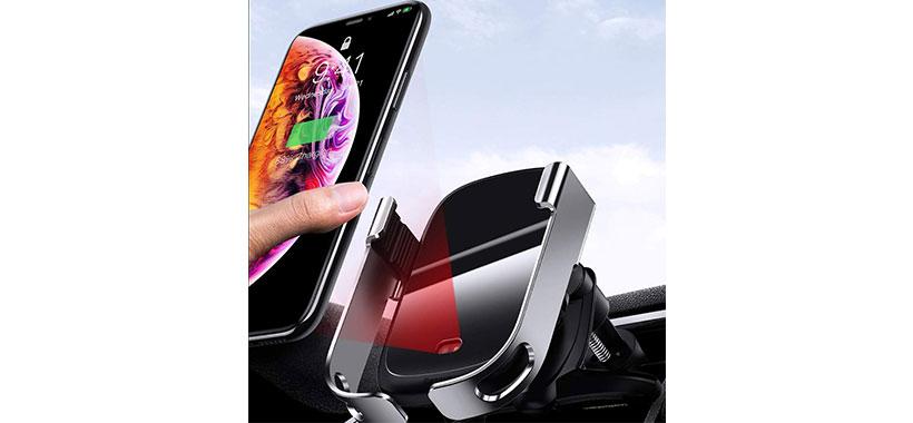 نگهدارنده و شارژر مغناطیسی بیسوس Rock Smart Car Holder