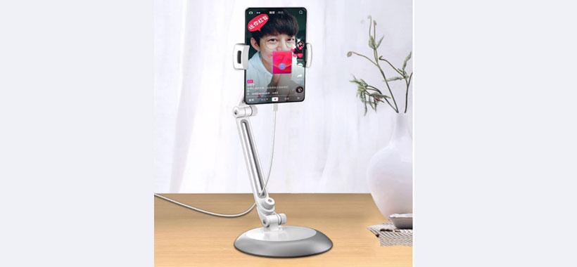 پایه نگهدارنده تبلت و گوشی باوین PS15
