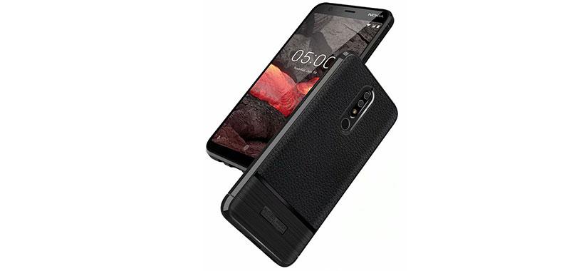 قاب ژله ای طرح چرم نوکیا Nokia X6