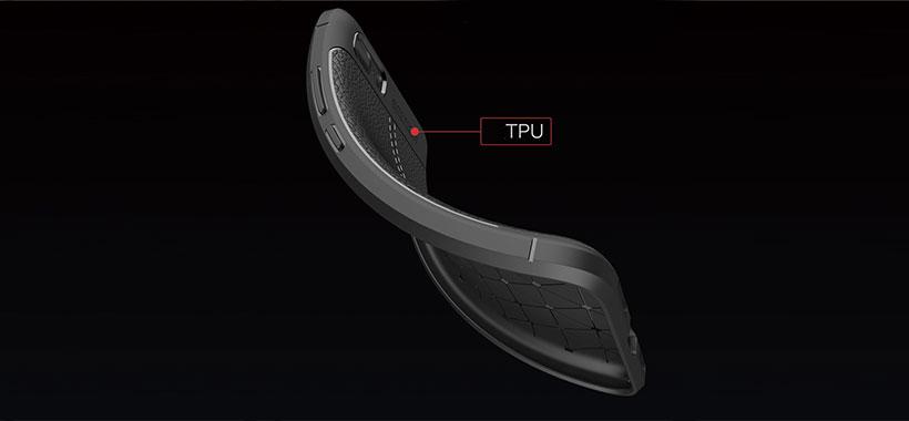 قاب ژله ای طرح چرم ایسوس Zenfone 3s Max ZC521TL