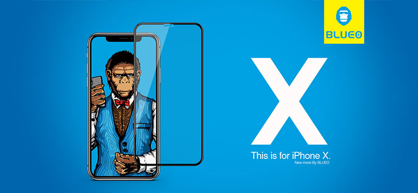 گلس Blueo Strong iPhone X/Xs
