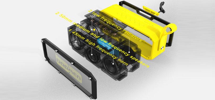 اسپیکر بلوتوث Bopmen ARMOR XL