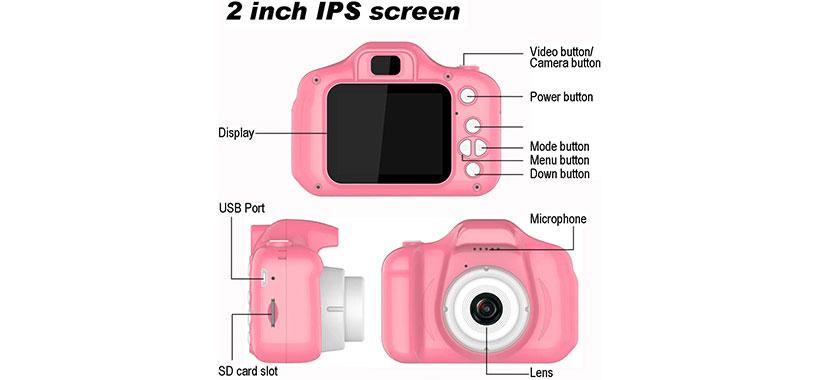 دوربین دیجیتال بچه گانه