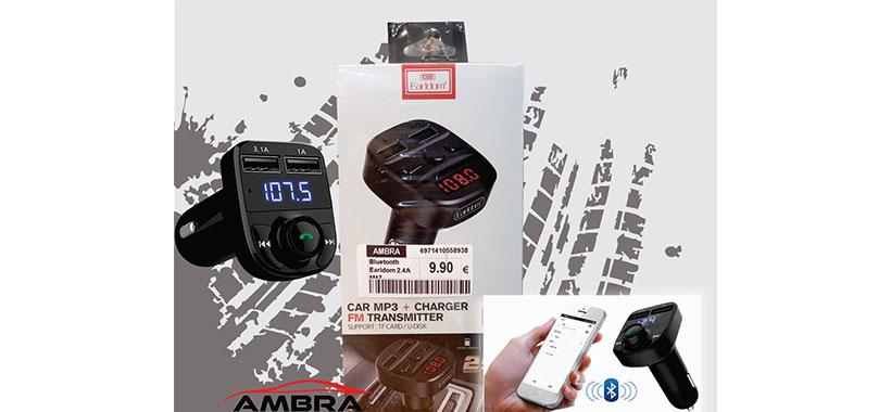 شارژر فندکی با قابلیت پخش موسیقی و تماس ارلدام ET-M47