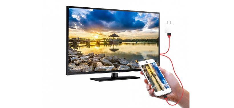 کابل مبدل Lightning به HDMI ارلدام ET-WS8C