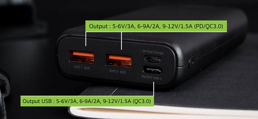 شارژر همراهEnergea Compac Ultra PQ2201